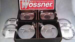 Wossner Forged Pistons Porsche 944 NA 100.0 mm Bore, 10.6:CR Part # K9476DA