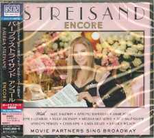 BARBRA STREISAND-ENCORE: MOVIE PARTNERS SING BROADWAY-JAPAN CD F83