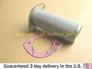 JCB BACKHOE  - STRAINER TRANSMISSION WITH GASKET (PART # 32/902200 813/50027)