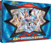 ASH-GRENINJA EX Collection Box POKEMON TCG Cards Fates Collide Packs & Promo