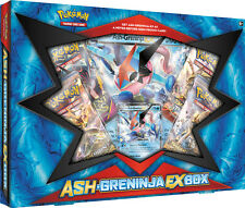 ASH-GRENINJA EX Collection Box POKEMON TCG Cards Fates Collide Packs & Promo