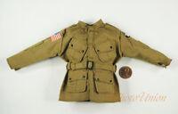1:6 Scale Action Figure 101st Airborne Combat Shirt Blouse Jacket Uniform DA311