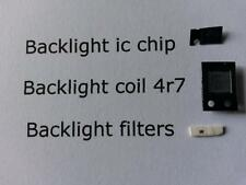 Fix parts backlight ic chip+backlight coil 4r7+backlight filters for ipad 2 3 4