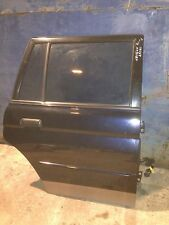 2001 Mitsubishi Shogun Sport driver side rear door complete with glass and motor