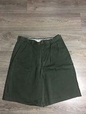 Mens J.Crew Green Shorts Size 33 A01