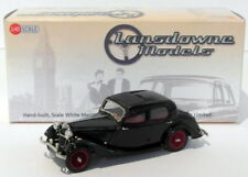 Lansdowne Models 1/43 Scale LDM74A - 1937 Riley 12/4 Continental Sedan - Black