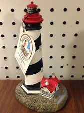 "Scaasis Originals Lighthouse # 133 St. Augustine, Fl.  7"" tall"