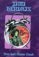 Jimi Hendrix Official Twin Bell Alarm Clock