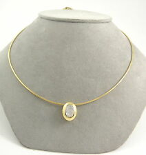Halsketten und Anhänger aus mehrfarbigem Gold für Damen mit SI Reinheit