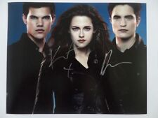 Kristen Stewart, Robert Pattinson 8x10 Photograph Signed Autographed Free Ship