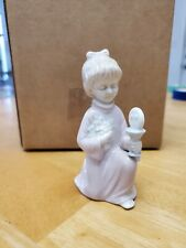 Vintage 1984 Roman First Holy Communion Girl Figurine.