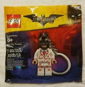 LEGO - BATMAN MOVIE - KISS KISS TUXEDO - KEYCHAIN - MINIFIGURE - POLYBAG