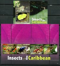 St. Vincent Canouan 2012 Insekten Insects Ameise Käfer Spinne Spider MNH
