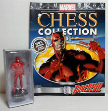 EAGLEMOSS MARVEL CHESS COLLECTION # 5 DAREDEVIL FIGURE + MAGAZINE UNUSED NEW