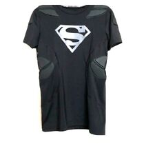 Under Armour Football Compression 5 Pad Alter Ego Superman Shirt Size XL New