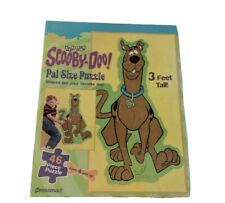 Cartoon Network 1999 Scooby-doo PAL Size Puzzle 3 Feet Tall Complete