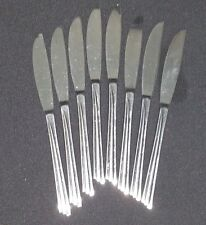 Reed & Barton WAYZATA (stainless)  Dinner Knives SET OF 8