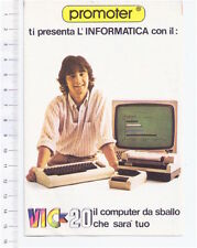COMMODORE VIC-20 80s italy Promoter depliant flyer - volantino depliant