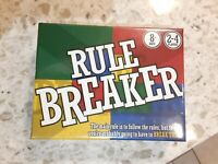 Brand New - Topside Games Rulebreaker - Ages 8+ | 2-4 players ~ Fun Game, Gift!!