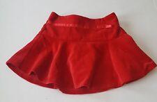 Children's Place Red Velour Christmas Skirt 24 Months