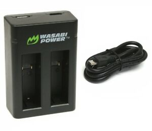 Wasabi Power Dual USB Charger for GoPro Fusion & ASBBA-001 Charger Only