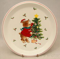 Mikasa TRIM THE TREE  CC009 Child's Plate or Salad Plate 8 3/8""