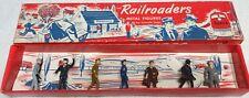 Lincoln Logs Hollow Cast Lead Set #30 Railroaders Exib