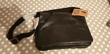 BNWT - TAURUS BLACK LEATHER Crossbody Bag