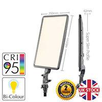 Slim-Profiled Continuous Dimmable Bi-Colour LED Panel Light Professional