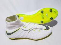 Nike Size 10 Hypervenom Phantom III 3 Elite DF SG-Pro Soccer Cleats White AJ6706