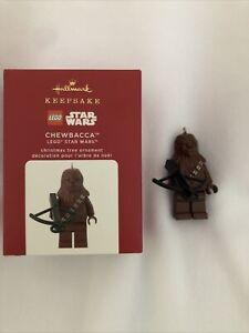 Hallmark Star Wars Lego Ornament Chewbacca New 2020