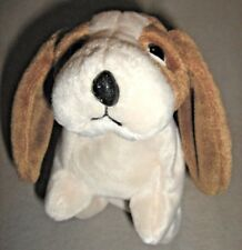 90° SIDEWAYS NOSE ERROR Ty Beanie Baby TRACKER the BASSET HOUND DOG plush RARE