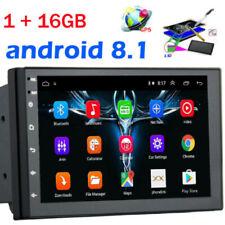 "7"" Android 8.1 AUTORADIO con navegación NAVI BLUETOOTH USB GPS doble 2DIN"