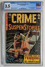 Crime Suspenstories #23 CGC 1954 EC Comics Golden Age