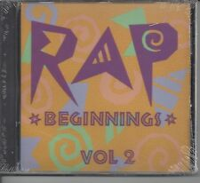"""ICE T- 2 LIVE CREW- KING TEE & OTHERS  """"Rap Beginnings Vol. 2"""" NEW SEALED RAP CD"""