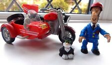 POSTMAN PAT POSABLE FIGURE WITH JESS PLUS SDS MOTOR BIKE AND SIDECAR (PAT 5)