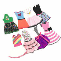 1PC Lovely Doll Dress For Barbies Dolls Toy Party Summer Clothes Handmade R N3T9