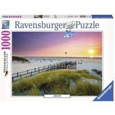 481328 Ravensburger 19877 - Tramonto su Amrum Puzzle 1000 Pezzib077tsjt5q