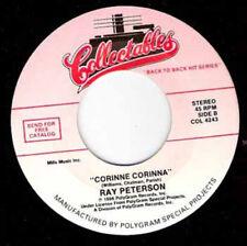 "RAY PETERSON - Corina Corina 7"""