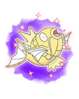 Ultra Pokemon Sun and Moon Lunar Shiny Magikarp Event 6IV-EV Trained