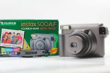 [Mint in Box] FUJIFILM Instax 500AF Instant Film Camera from Japan #125