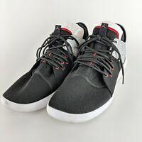 NIKE Black & Grey Air Jordan First Class Cement Sneakers Size 12 AJ7312-002