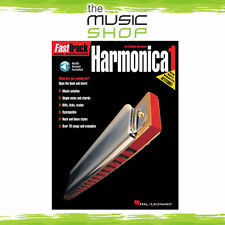 New Fasttrack Harmonica 1 Book & OLA (Online Audio) - Fast Track Music Book
