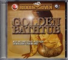 Reggae Music CD Ragga Dancehall Riddim Driven Golden Bathtub 2002 New Sealed VP