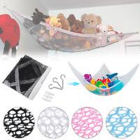 Toy Hammock Hanging Storage Net Corner Kids Stuffed  Animals Organizer FOR
