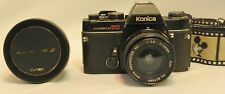 Konica Autoreflex Tc 35Mm Slr Film Camera With Sakar Super Wide 0.42 Lens Rll
