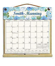 PERSONALIZED CALENDAR WITH 2018, 2019 & AN ORDER FORM FOR 2020 BLUE FLOWERS