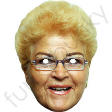 Pam St Clement,Pat Butcher Celebrity Card Mask - All Our Masks Are Pre-Cut!