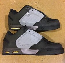DVS Shoes Militia Heir Size 7 Grey Black Transom Havoc Skate Shoes Stash Tongue