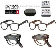 Occhiale da Lettura Pieghevole/Reading Glasses Folding Montana MFR61 + Custodia